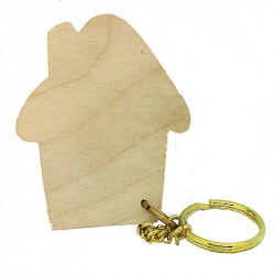 Personalised House Keyring