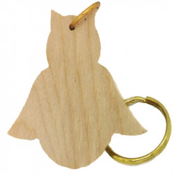 Personalised Owl Keyring 1