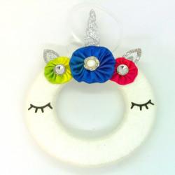 12cm Unicorn Wool Wreath -...
