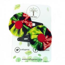 Christmas Hair Clips -...