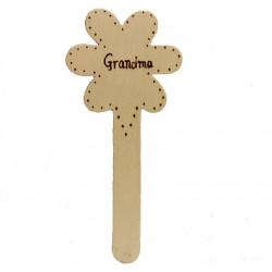 Personalised Flower Bookmark