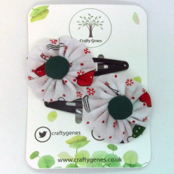 Christmas Hair Clips -...