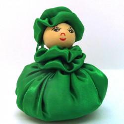Satin Sweetheart  - Green -...