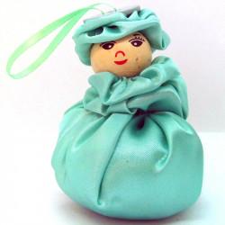 Satin Sweetheart  - Mint -...