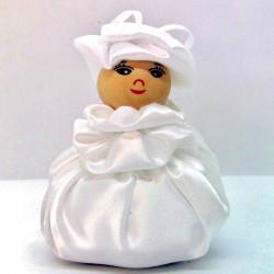 Satin Sweetheart  - White -...