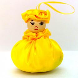 Satin Sweetheart  - Yellow...