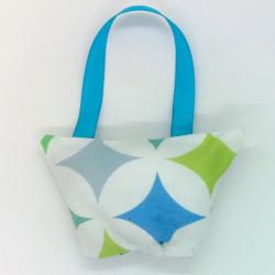 Mini Lavender Handbag -...