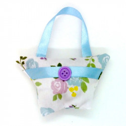 Mini Lavender Handbag -...
