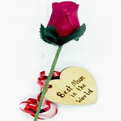 """Wooden Rose - Wine - """"Best..."""