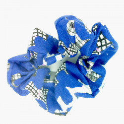 Blue Scotty Dog Scrunchie