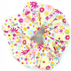 Funky Flower - Hair Scrunchie
