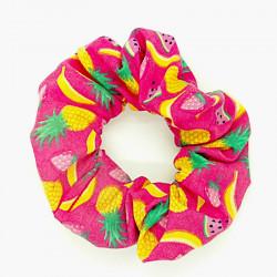 Pink Fruit - Hair Scrunchie