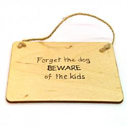 Rectangular Plaque - Forget...