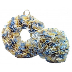 12cm Fabric Wreath with...
