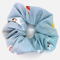 Grey Dog Scrunchie