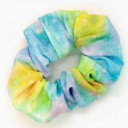 Pastel Galaxy Scrunchie
