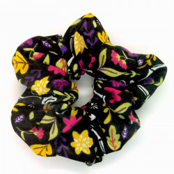 Floral Skeleton Scrunchie