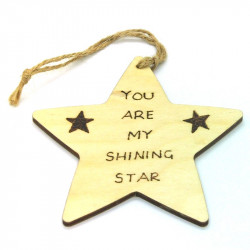 Personalised Star Plaque