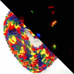 25cm Fabric Heart Wreath...