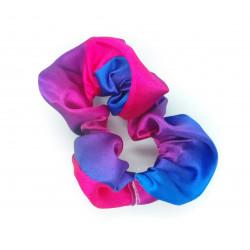 Pink & Blue Satin Hair...