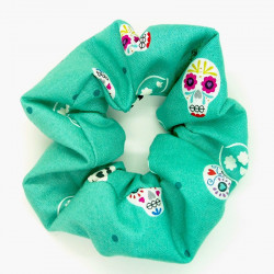 Teal Skulls - Glow in the...