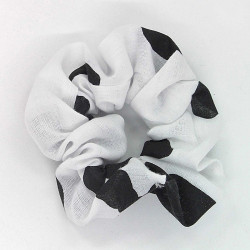 Cow Print Scrunchie