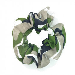 Camouflage Scrunchie