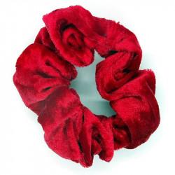 Red Velvet Hair Scrunchie