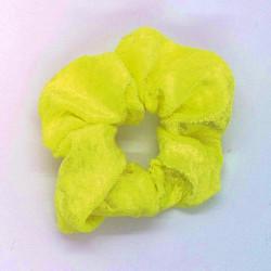 Velvet Flourescent Yellow...