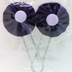 Paperclip Bookmark - Purple...