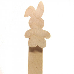 Personalised Bunny Bookmark