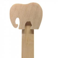 Personalised Elephant Bookmark