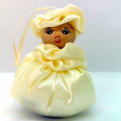 Satin Sweetheart  - Cream