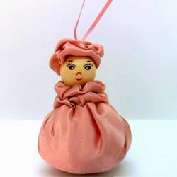 Satin Sweetheart  - Dusky Pink