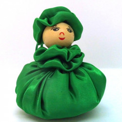 Satin Sweetheart  - Green