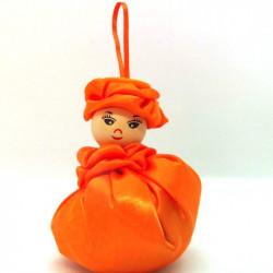 Satin Sweetheart  - Orange