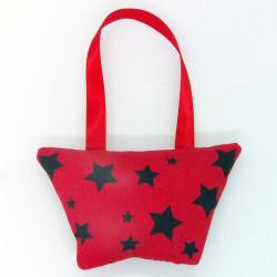 Mini Lavender Handbag - Red...