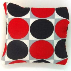 Mini Lavender Pillow - Red Dot
