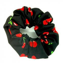 Black Cherry Scrunchie