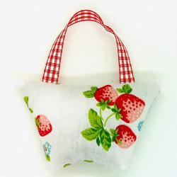 Lavender Handbag - White...