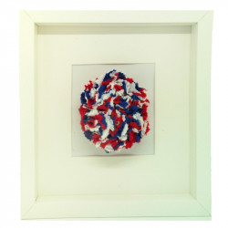 Tatty - White Frame - Red,...
