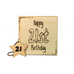 2 Piece Gift Set - 21st...