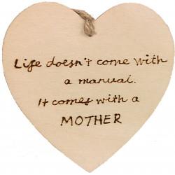 Heart Plaque - Mother