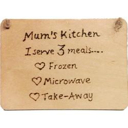 Rectangular Plaque - Mums...