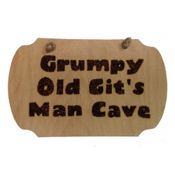 Plaque - Grumpy Old Gits...