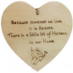 Heart Plaque - Heaven
