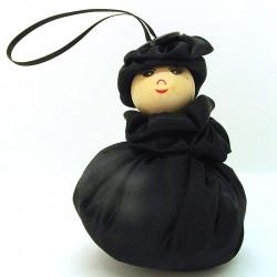 Satin Sweetheart  - Black-...