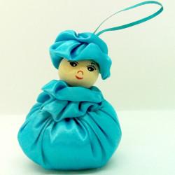 Satin Sweetheart  - Lt Blue...