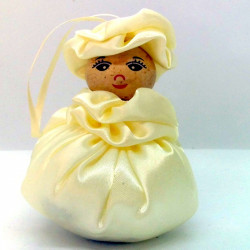 Satin Sweetheart  - Cream -...