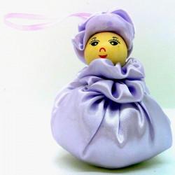 Satin Sweetheart  - Lilac -...